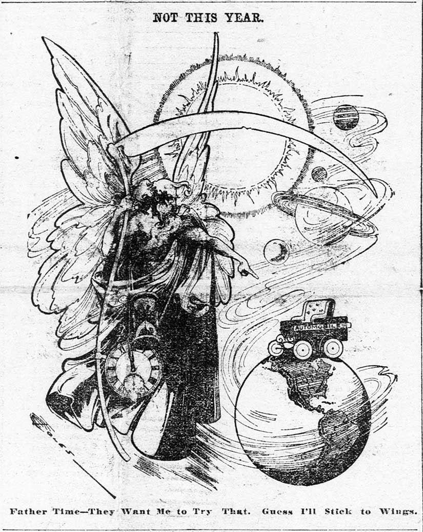 Cartoon from the St. Paul Globe.